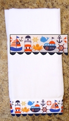 Decorative Burp Cloth - Sail
