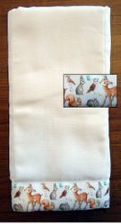 Decorative Burp Cloths - Woodland