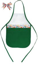 Decorative Christmas Two-Toned Apron - Child - Cupcakes 1