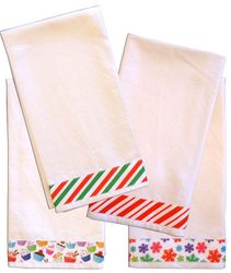 Decorative Solid Plain Weave Kitchen/Tea Towels