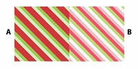 Clearance Priced - Diagonal - QuickStitch Embroidery Paper