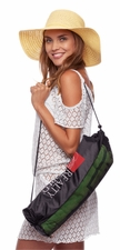 Drawstring Mesh Beach Bag
