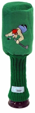 Embroidered Plush Golf Head Cover