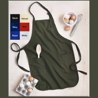 ***NEW***FULL Length Apron with Two Pockets