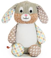 Harlequin Bunny - Spring Time (Brown)