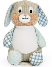 Harlequin - Bunny - Starry Night (Blue)