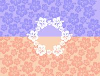 "Clearance Priced - Hawaiian 3"" Circle - QuickStitch Embroidery Paper"