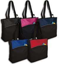 Improved Two-Tone Colorblock Tote