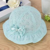 Lace Fashion Sun Hat - Mint