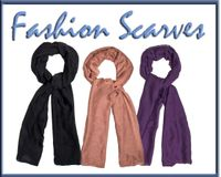 ***Closeout Sale***Lightweight Fashion Scarves