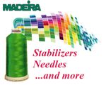 Machine Embroidery Supplies
