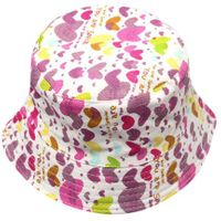 Patterned Childrens' Bucket Hat - You Are Special