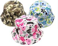 Patterned Childrens' Bucket Hats