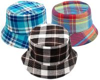 Plaid Childrens' Bucket Hat
