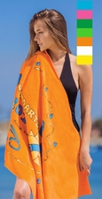 Premium Velour Beach Towel - $11.95