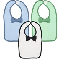 Rabbit Skins - Infant Baby Rib Bow Tie Bib