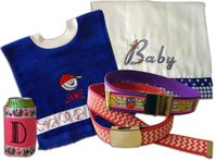 Ribbon Embellished & Embroidered Items