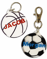 "Round  - Key tag -  2"" diameter (each)"