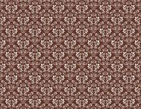 Clearance Priced - Samantha Small Print - QuickStitch Embroidery Paper - BROWN/WHITE
