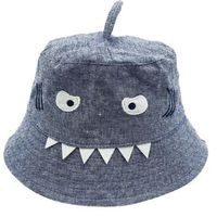 Shark Bucket Hat - Dark Blue
