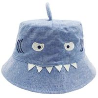 Shark Bucket Hat - Light Blue