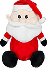 "***Clearance Priced***Christmas Baby Cubbie - ""Kris Kringle"""