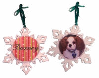 Snowflake ornament for your pet