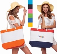 Stripe Nautical Beach Bag - $10.95 each