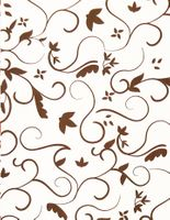 Clearance Priced - Swirl Filagree - QuickStitch Embroidery Paper - BROWN