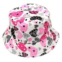 Patterned Childrens' Bucket Hat - Just For You