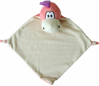 Clearance Priced - Wee Snuggle Blankie - Dragon - Pink