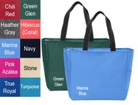 Zippered Essential Tote