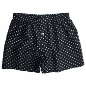 Black Dot Silk Boxers