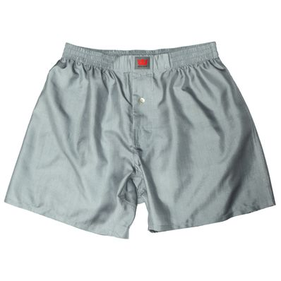 Grey Mulberry Silk Boxers