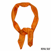 Bright Melon Silk Bandana