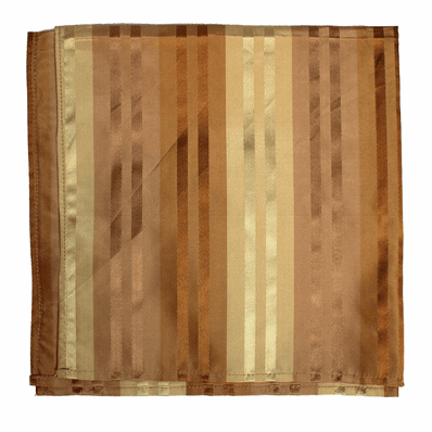 Camo Brown Stripes Taffeta