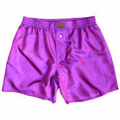 Classic Purple Mulberry Silk Boxers