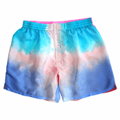 Color Fantasy Silk Tie Dye Boxers