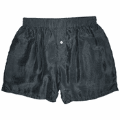 Cool Charcoal Silk Boxers