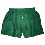 Cozy Sea Green Silk Boxers