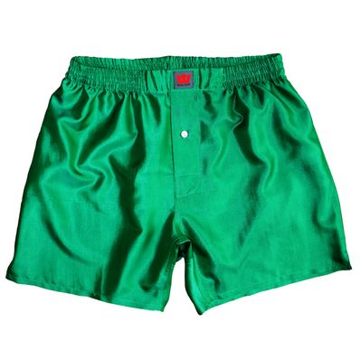 Emerald Mulberry Silk Boxers