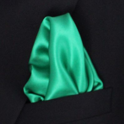 Emerald Satin Silk