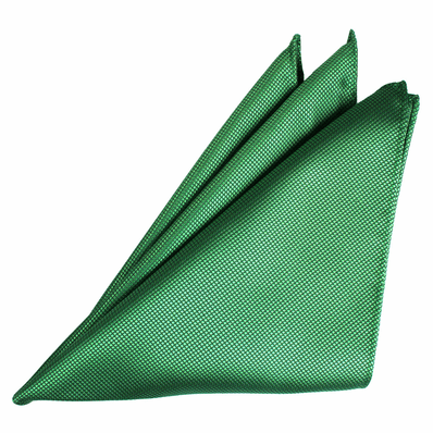 Fire Green Silk Jacquard