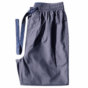 Granite Grey - Men's Silk Cotton Pajama Pants