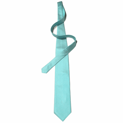 Ice Blue Silk Tie