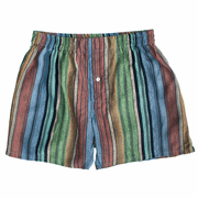 Java Stripes Men's Silk Cotton Boxers
