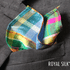 Madras Blaze Dupioni Silk Pocket Square