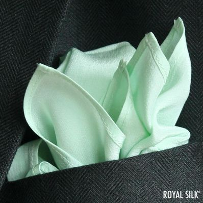 Mint Green Satin Silk