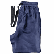 Navy - Men's Silk Pajama Pants