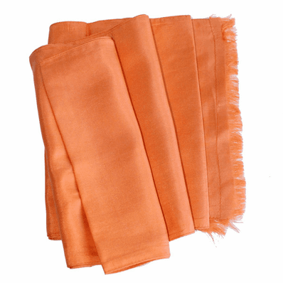 Orange Dashing Aviator Scarf